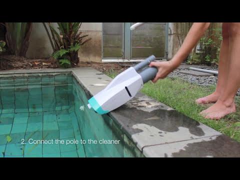 Ручной пылесоc для бассейна Kokido Telsa 10 Video #1