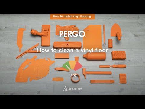 Onderhoud vinylvloeren pergo be