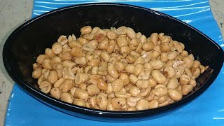 Fried Garlic Peanuts - Easy Snack Recipe