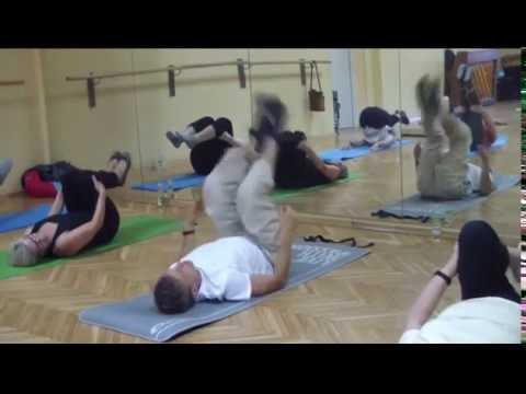 Ćwiczenie mięśni pas kory