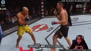 Twitch Streamer Pretends He's Playing UFC Game but He's Actually Streaming Live Fight
