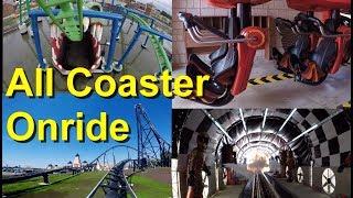 Energylandia All Roller Coasters Onride 2018 - Energylandia Alle Achterbahnen Onride 2018 – Hyperion