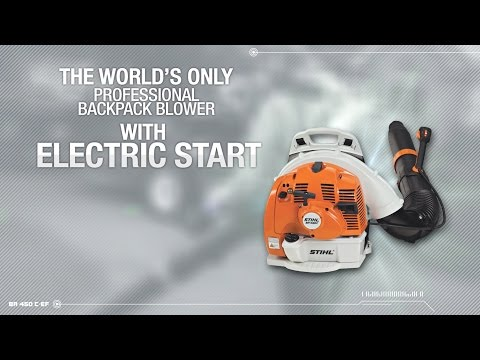 Stihl BR 450 C-EF in Fairbanks, Alaska - Video 1