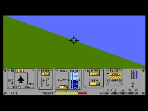 Fighter Pilot (Digital Integration) for the Atari 8-bit family