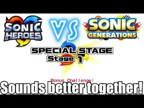 Download Sonic Heroes Special Stage Vs Sonic Generations