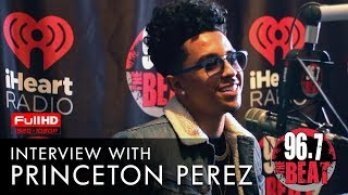 Princeton Perez Interview with Moran Tha Man
