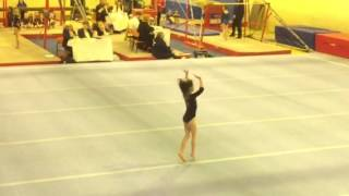 Elisha Lynes Floor Routine