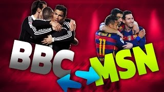 BBC w Barcelonie, MSN w Madrycie?! FM2017
