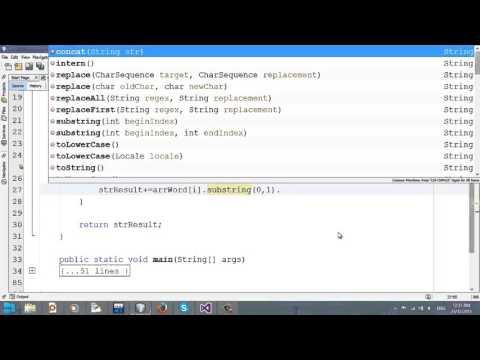 Video 30 - Chuẩn Hóa Chuỗi Java