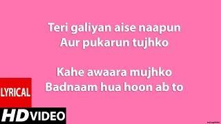 Fakira (Lyrics HD) - Student Of The Year 2 | Sanam   - YouTube