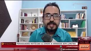 GERENTE OPERACIONAL DA EMBASA ESCLARECE SOBRE INCÊNDIO