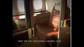 The Singapore airlines suites