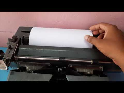 How to Learn Typewriting | Parts of Typewriter | Typewriting Class Part 1 | How to Type