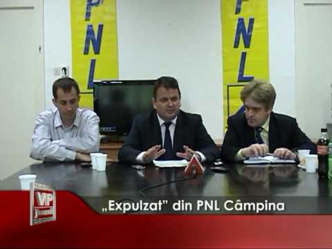"""""""Expulzat"""" din PNL Câmpina"""