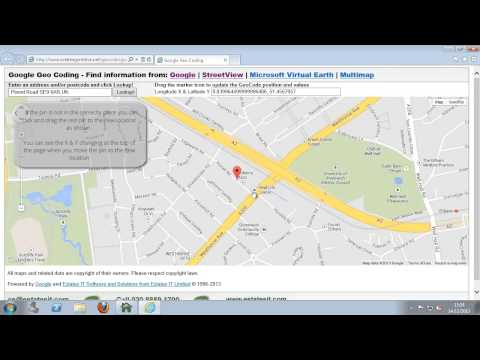 Adding google mapping to a property