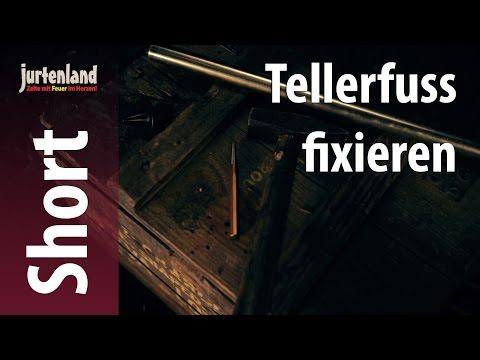 Short Film - Wie hält der Tellerfuss an der Zeltstange?  - Jurtenland