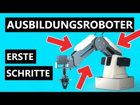 Dobot Magician Roboter Test (deutsch)!