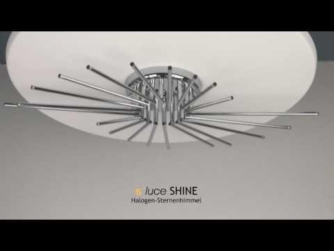 s´luce SHINE Halogen-Sternenhimmer, Licht-Design Skapetze