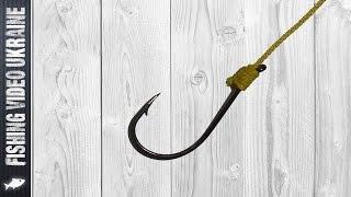 Способы вязки рыболовной лески и крючка