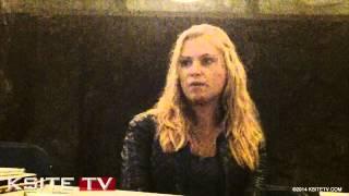Eliza Taylor - 21/10/14 - KsiteTV