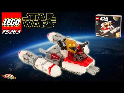 Vidéo LEGO Star Wars 75263 : Microfighter Y-wing de la Résistance