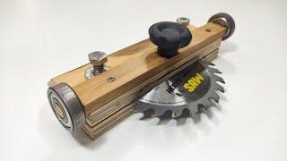 Sehen Sie, wie einfach es ist, ein solches Werkzeug zu haben. - Holzhandwerk