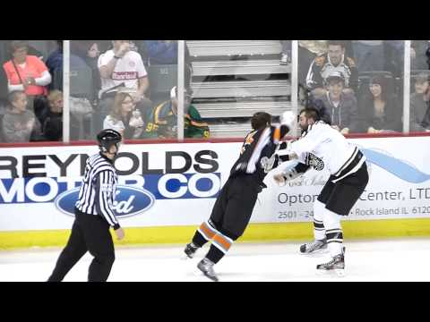 Mitch McColm vs. David Simoes
