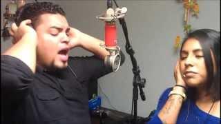 """""""Hoy tengo ganas de ti"""" cover por Raul Burgos y Karina Michelle"""