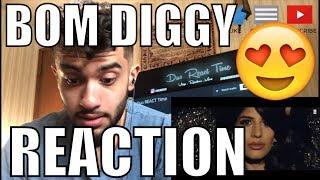 Zack Knight X Jasmin Walia   Bom Diggy REACTION!!!