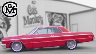 64 Chevy Impala SS Lowrider Stops By Gas Monkey Garage - Build Of The Week