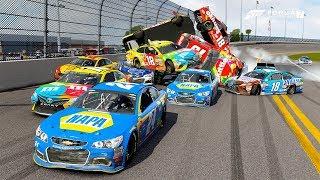 Trecherous Turn 4!   Forza Motorsport 7   NASCAR