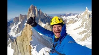 Markus Pucher - first winter solo ascent of Cerro Pollone, Patagonia