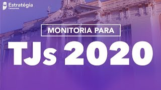 Monitoria TJs 2020