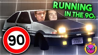 """CORRIENDO A 180 - """"Running in the 90s"""" [DEMON] by Findexi [GD 2.11] 