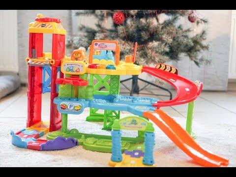 🚕 Tut Tut Baby Flitzer 🚓 Spielset Parkgarage mit Tankstelle und Waschstraße von Vtech - Spielzeug