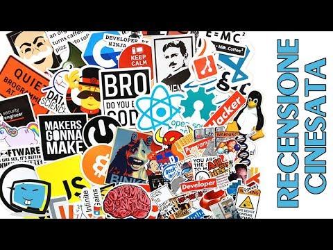 102 adesivi per amanti del computer, programmatori, Developer ideale per attaccare al portatile