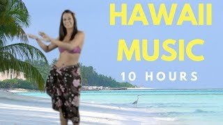 Happy Hawaii Music: 10 Hours of Hawaii Music Traditional for Hawaii Music Relax