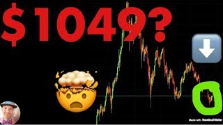 WARNING: Is $1049 Bitcoin The REAL Bottom? What Are The Chances? (Latest Crash News)