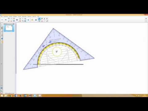 Im Unterricht (2/8) - Whiteboard-Möglichkeiten für den Matheunterricht (Lineal, Geodreieck, Zirkel)