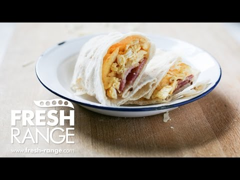 Gluten-free Breakfast Wraps