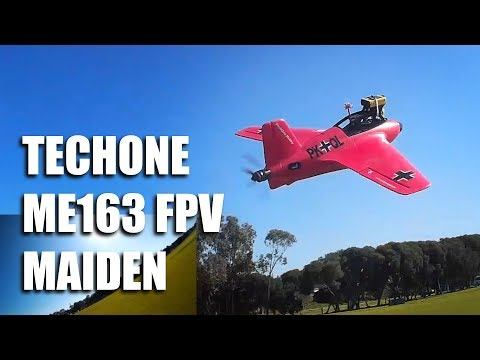 techone-me163-fpv-maiden