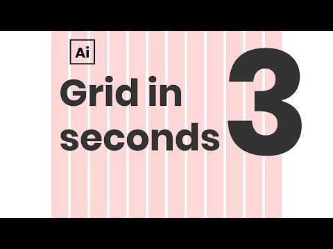 How to create any grid in Illustrator in 3 seconds. Bootstrap grid action in Adobe Illustrator CC