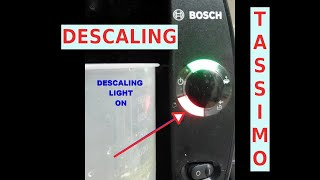 Red Scaling Light Always On : How to Descale your Tassimo