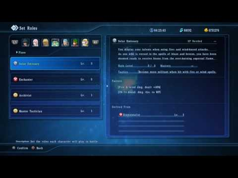 STAR OCEAN 5 Best Overall Party Role Setup