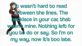 Demi Lovato - U Got Nothin' On Me Lyrics