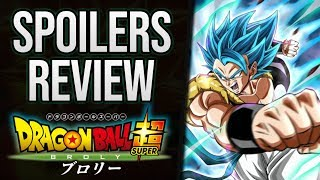 DRAGON BALL SUPER BROLY SPOILER REVIEW