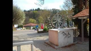 preview picture of video 'Bildimpressionen Bahnhof Bammental'