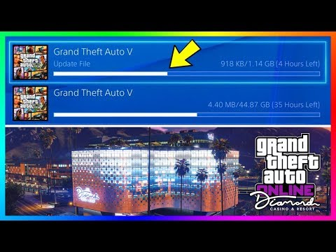 GTA 5 Online The Diamond Casino & Resort DLC Update - RELEASE TIME! NEW Content Early & Much MORE!