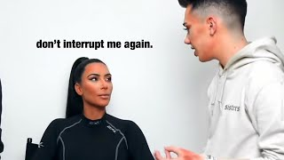 Kim Kardashian being over James Charles