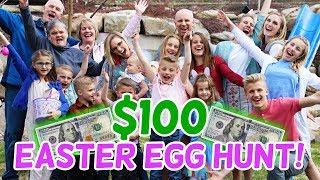 $100 Family Easter Egg Hunt PARTY! 🐣🎉